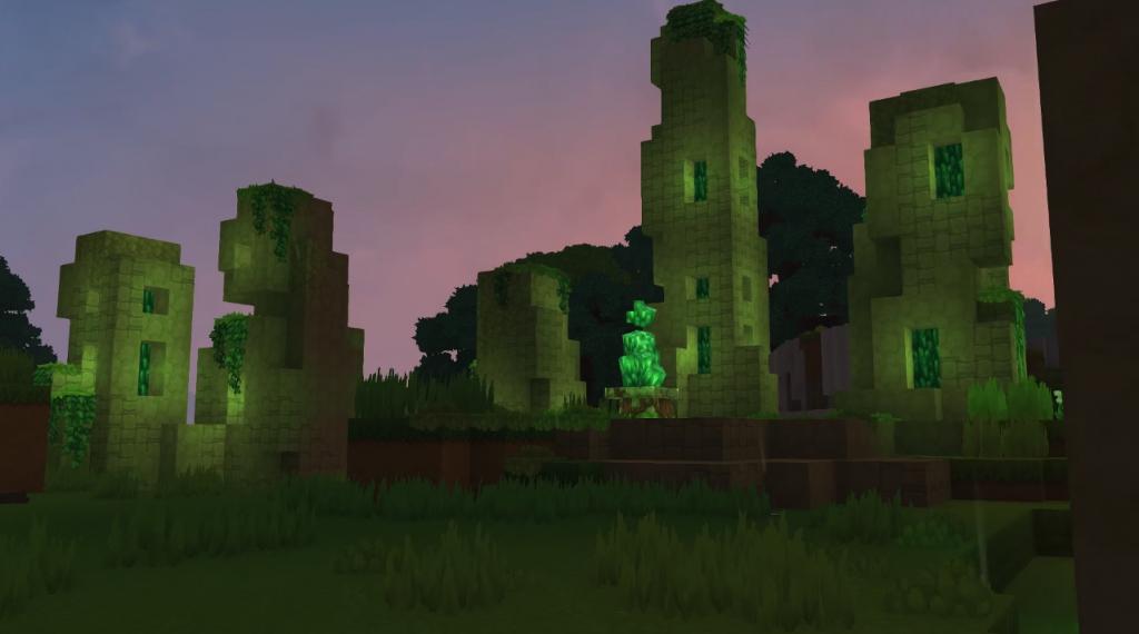 noche hytale ruinas runas circulos