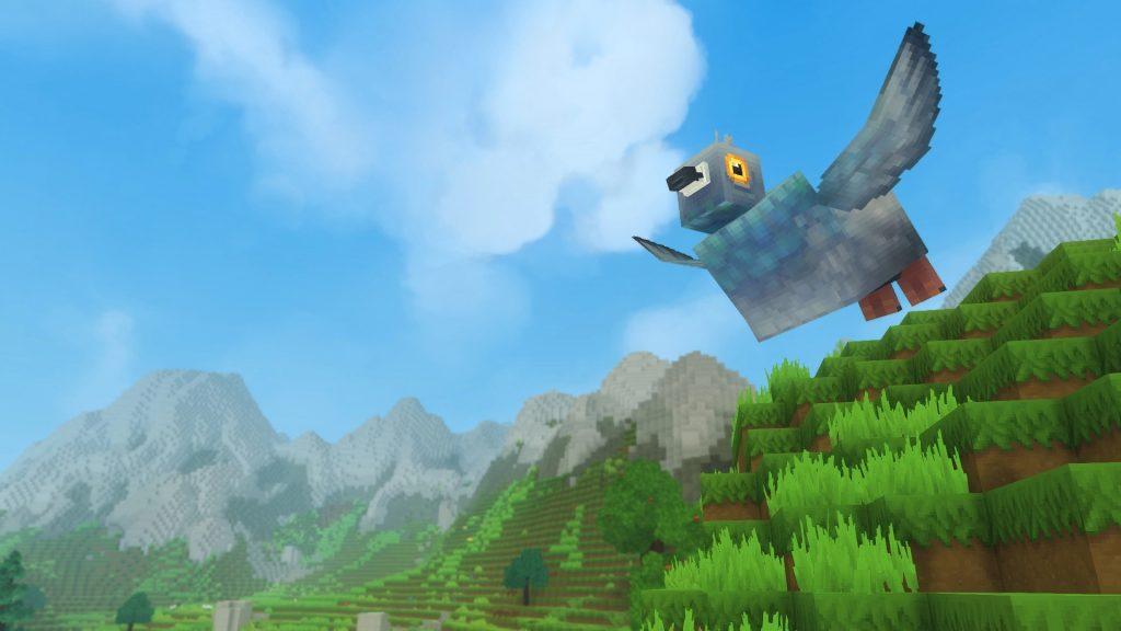 bird pajaro hytale cielo azul