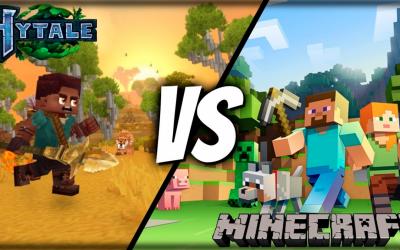 HYTALE vs MINECRAFT ¿Quitará el trono del juego creado por Mojang?