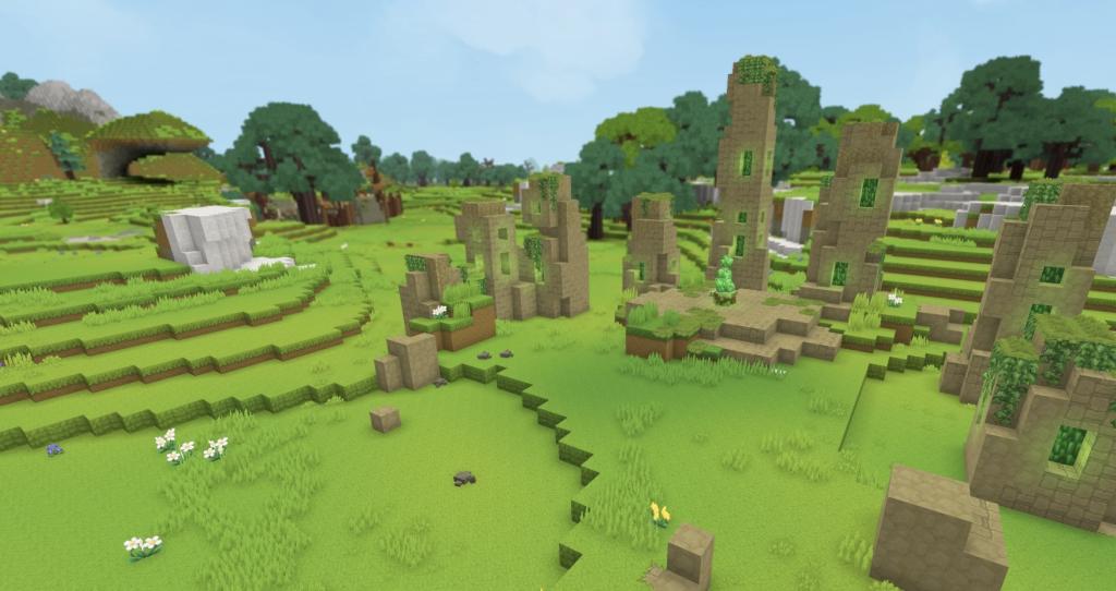 ruinas hytale cesped circulos elementales runas 2